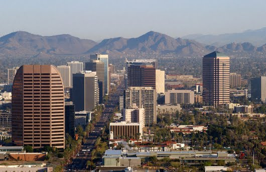 Phoenix downtown Arizona USA